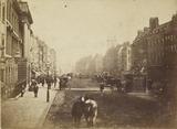 Street scene in London c.1860