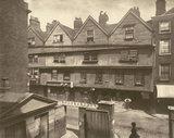 Old Houses In Gray's Inn Lane: 1878