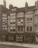 Old houses in Aldersgate Street, 1879.