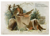 Christmas Card: c.1890
