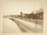 Chelsea Embankment looking west: c.1872