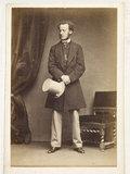 Artist John Everett Millais; c.1865