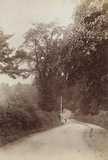 Colney Hatch Lane, Friern Barnet, c.1870.