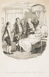 Oliver waited on by the Bow Street runners: 1838