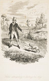 Sykes attempting to destroy his dog: 1838