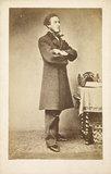 Portrait of Anthony Ashley-Cooper: c.1865