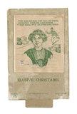 Game entitled 'Elusive Christabel'; 1912