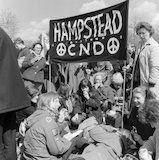 CND protest march, 1965