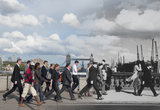 London Bridge Commuters 1935 - 2014