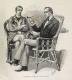 Sherlock Holmes Illustration from the Strand Magazine;1893