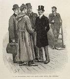 Illustration from the Strand Magazine; 1892