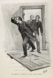 Sherlock Holmes. Illustration from the Strand Magazine; 1893
