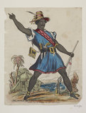Mr Pitt as Dred the Freeman of the Swamp: c.1875