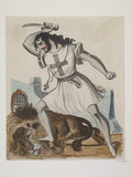 Mr N.T.Hicks as Richard 1st or the Lion King: 1844