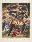 Theatrical portrait print: c.1840