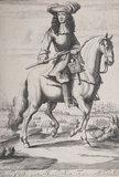 Charles II on a horse C1680