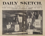 Newscutting from the front page of the Daily Sketch 4th April 19