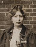 Portrait of Sylvia Pankhurst; 1905 - 1914