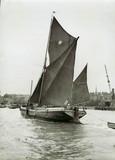Limehouse Reach c.1939: Sailing Barge