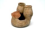 Roman Triple vase