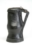 Leather jug: 16th century