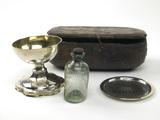 Portable communion set: 16th century