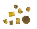 Amber beads from the Baltic: 15th century