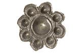 Pewter brooch: 11th century