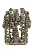Pewter pilgrim badge of John Schorn: 15th century