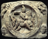 Relief sculpture of Mithras: 3rd century