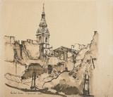 Bow Church, Cheapside, 1940