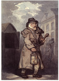 A Watchman making the rounds: 18th century