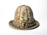 Man's buff leather hat: 17th centruy