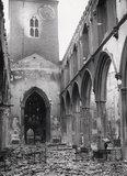 Bomb damage at St Giles, Cripplegate: 20th century