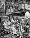 The arrival of Loudoun Castle at the London Dock: 1877