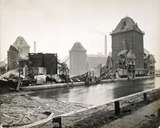Damage caused by the Silvertown explosion: 1917