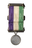 Reverse view of the Holloway medal presented to Lady Constance Lytton: 1909