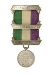 Suffragette Hunger Strike medal: 1909