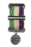 Obverse view of the Holloway medal presented to Lady Constance Lytton: 1909