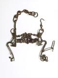 Medieval iron curb bit