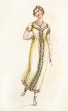 Ball Dress: 19th century