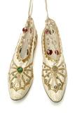 Shoes worn by Anna Pavlova: 1923