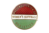 National Union of Women's Suffrage Societies badge: 1906-1914