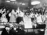 Presentation to Mrs Pankhurst: January 1909