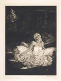 Anna Pavlova after Lavery: 1913