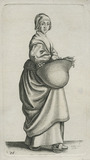 Figure of a woman: 17th c entury