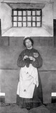 Mrs Pankhurst in prison dress: 1905-1914