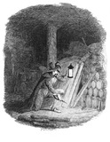 Guy Fawkes laying the train: 1841