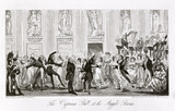 The Cyprians ball at the Argyle Rooms: 1825