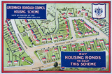 Greenwich Borough Council Housing Scheme, buy housing bonds to help this scheme: 1922